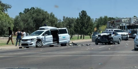 Waymo not at fault in Arizona accident