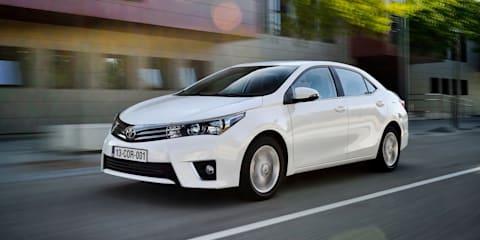 2014 Toyota Corolla sedan details revealed
