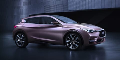 Infiniti Q30 and QX30 confirmed for Australia by 2017