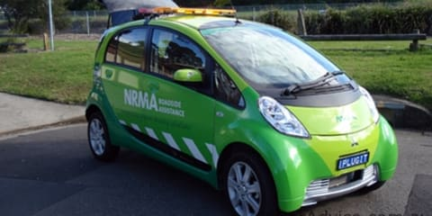 NRMA to use Mitsubishi i-MiEV roadside assistance vehicle