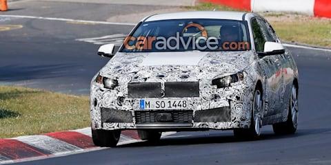 2019 BMW 1 Series hits the Nurburgring