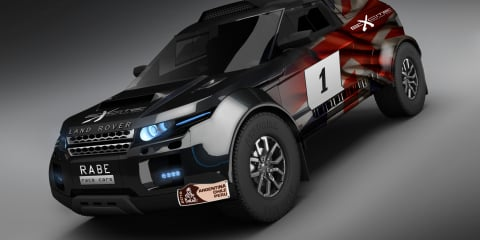 Range Rover Evoque Excite Rallye Raid SUV to run at 2013 Dakar