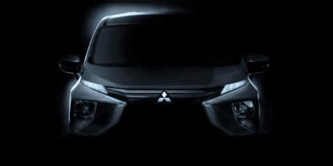2018 Mitsubishi 'Expander' people mover teased