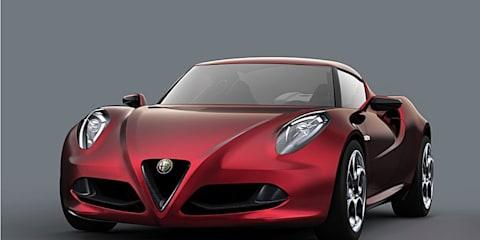 Alfa Romeo 4C Concept unveiled at Geneva