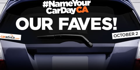 Name Your Car Day:: Our top picks for 2016