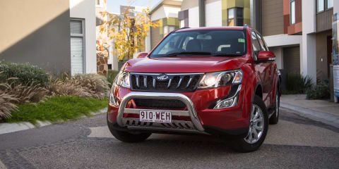 2018 Mahindra XUV500 pricing and specs