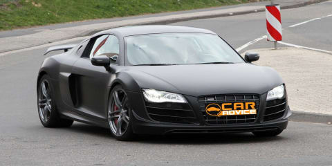 2010 Audi R8 ClubSport spy photos