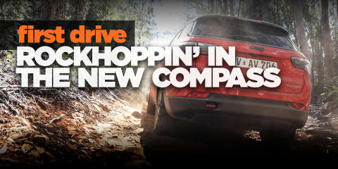 2018 Jeep Compass review: Rockhoppin' in Tassie