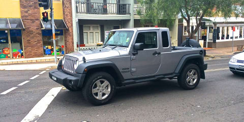 Jeep pick-up truck may not be a Wrangler variant, could be a standalone model