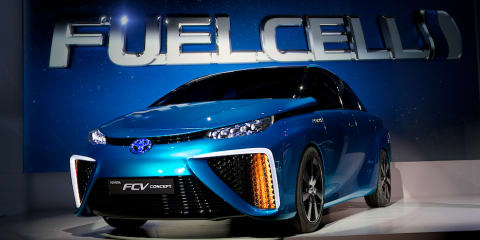 Toyota FCV : hydrogen concept can power a home for a week
