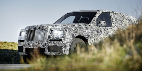 Rolls-Royce SUV on Australian radar