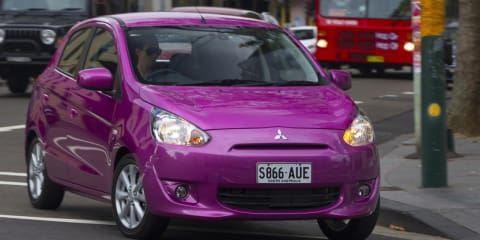 Mitsubishi Mirage launches from $12,990