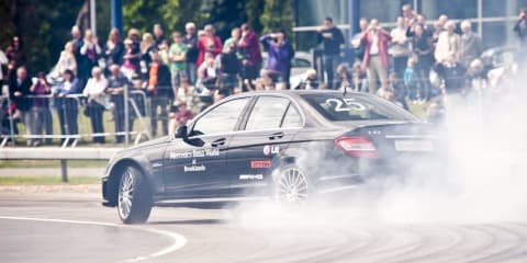 Mercedes-Benz C 63 AMG Smashes World Drift Record