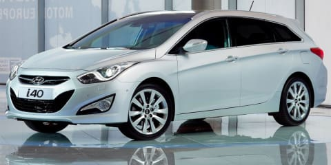 2011 Hyundai i40 Estate revealed before Geneva debut