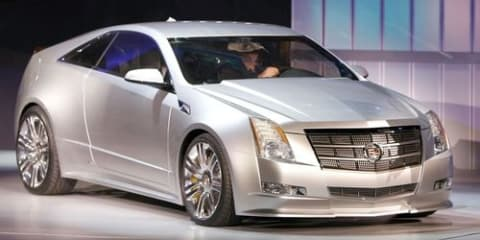 Cadillac's new 2011 CTS-V Coupe