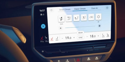 Volkswagen ID.3 dashboard revealed