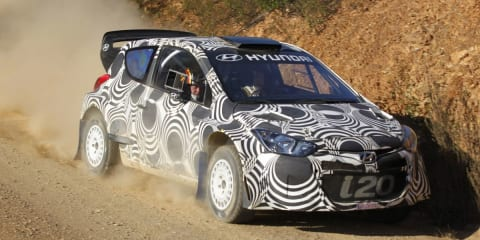 Hyundai WRC test day: access all areas