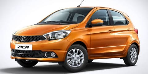 Tata Zica city car revealed for Indian market