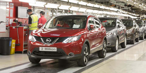 Nissan Qashqai breaks UK production record