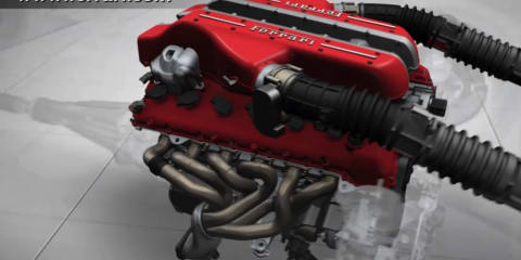 Video: Ferrari FF technical showcase
