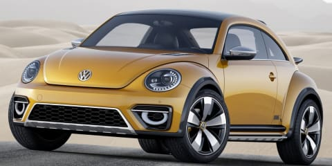 Volkswagen Beetle Dune concept revealed
