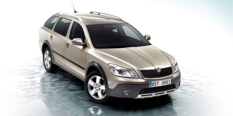 2010 Skoda Octavia Scout released in Australia