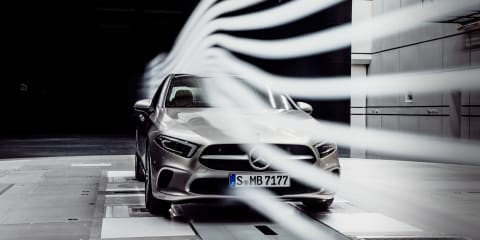 2019 Mercedes-Benz A-Class Sedan teased