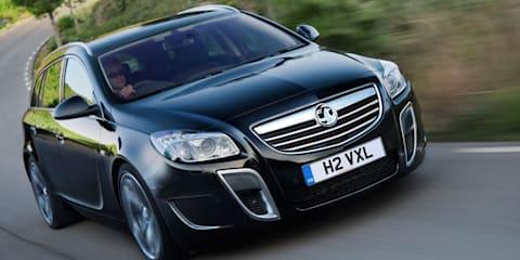 Vauxhall Insignia VXR Sports Tourer unveiled