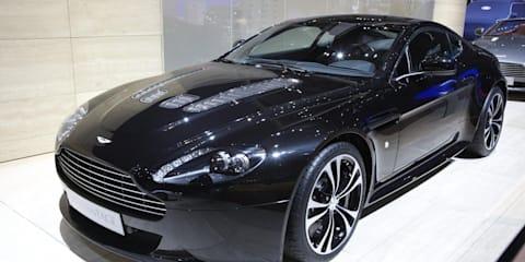 Aston Martin V12 Vantage Carbon Black Edition Geneva 2010