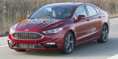 2017 Ford Mondeo Sport spied without disguise: Turbo V6 expected for Detroit show