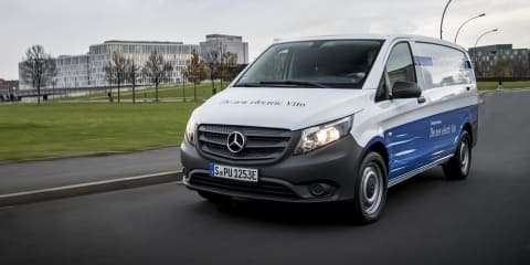 2018 Mercedes-Benz eVito revealed - UPDATE