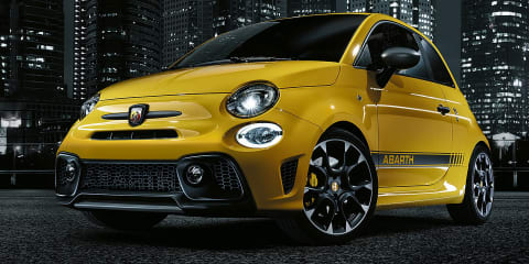 2017 Abarth 595 revealed: tiny hot hatch gets power bump, tweaked looks