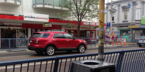 Ford Explorer caught in Melbourne