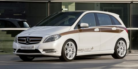 Mercedes-Benz B-Class E-Cell Plus at Frankfurt Motor Show