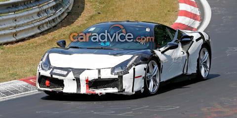 Ferrari 488 'Speciale' spied