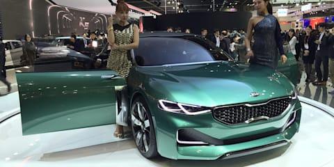 Kia planning rear-wheel-drive premium sports sedan - report