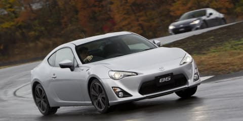 Toyota 86 Review: Prototype Drive
