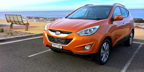 Hyundai ix35 recalled :: 32,525 small SUVs with airbag fault