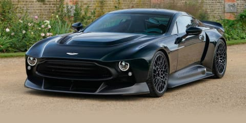 Aston Martin Victor: Brutal one-off muscle machine revealed