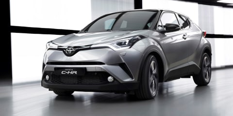 2017 Toyota C-HR unveiled in Geneva, Australian launch due early next year
