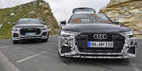 2019 Audi RS6 spied