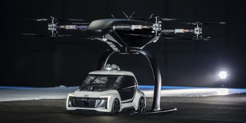 Audi Flying Taxi Concept unveiled in Amsterdam