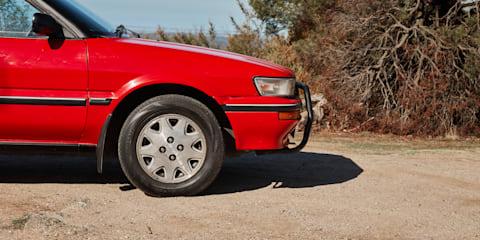 2018 Toyota C-HR v 1988 Toyota Corolla SR5 4WD Wagon comparison