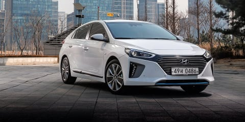 Hyundai Ioniq hybrid, PHEV and EV expected by early 2018
