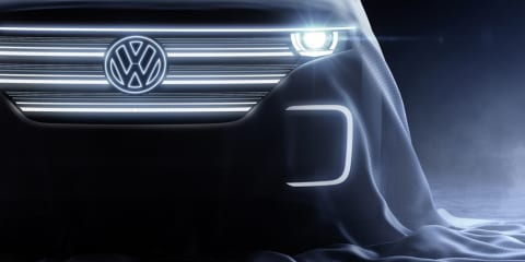 Volkswagen teases reborn Bulli electric bus for CES debut