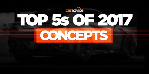 Top 5 concept cars of 2017