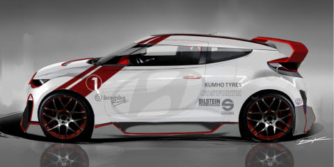 Hyundai Veloster concept: 300kW Velocity headed for 2012 SEMA show