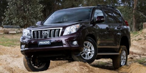 2010 Toyota LandCruiser Prado off-road technology details