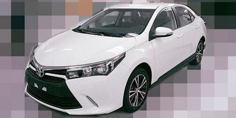 Toyota Corolla sedan facelift leak from Asia wears Yaris-style front