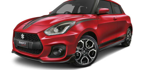 Suzuki Swift Sport Red Devil here in July from $29,156